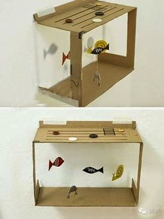 Wonderful things to do with a shoe box :)
