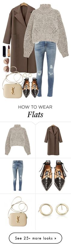 """""""592"""" by son-choe on Polyvore featuring rag & bone, Isabel Marant, Yves Saint Laurent, Chloé, Rue St. and Blue Nile"""