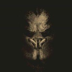 #predator #scifi #horror #alien #creature Alien Vs Predator, Predator Helmet, Predator Movie, Predator Alien, Predator Comics, Arte Alien, Alien Art, Airbrush Designs, Totenkopf Tattoos