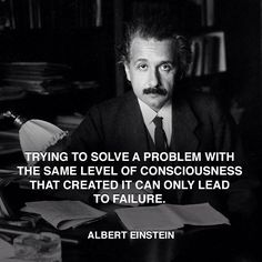 """Trying to solve a problem with the same level of consciousness that cr... http://www.pandagu.ru/en/quote-of-the-day/try-solve-problem-level-consciousness-created-lead-failure-albert-einstein via @pandaguruapp"