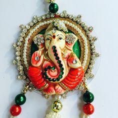 Ganesha Door Hanging/ Diwali Gift/ House Warming by SukritiCrafts