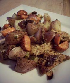 Roasted Veggies & Chicken