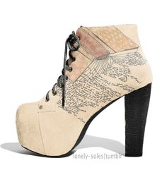 This little site has the cutest shoes ever that I wish they actually made in real life <3