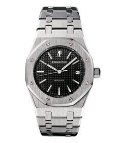 Audemars Piguet montre Royal Oak 15300ST http://www.vogue.fr/vogue-hommes/montres/diaporama/montres-d-ete-chronographes-acier-cadran-noir-hommes/19048/image/1006612#!audemars-piguet-montre-royal-oak-15300st