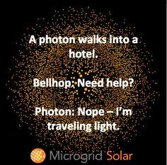 A little solar humor for our followers! #solar #photon #microgridsolar