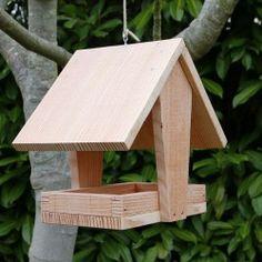 Nichoirs oiseaux type balcon nichoirs pour oiseaux du - Plan de mangeoire pour oiseaux du jardin ...