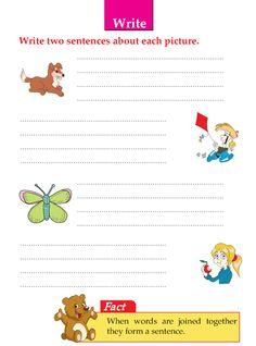 Picture Composition Worksheets For Kindergarten