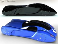 Concept Car Bugatti Type 57 Evoluzione - Concept And Design Cars