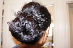 Mom Bun Reloaded | Curly Nikki | Natural Hair Styles and Natural Hair Care