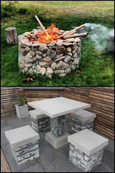 Is there anything you need for your outdoor area that you need or want to be virtually indestructible? See the different ideas we've collected where you can make use of gabions...