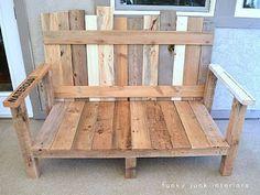 Ein Sofa für Ihren Garten aus Paletten2