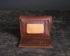 They've done it again... Love41 (by Saddleback Leather Co.) has created an amazing-looking leather product that I could see myself owning! Small Clutch Wallet
