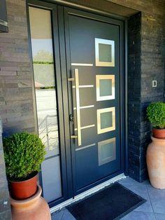 all type door design House Design, Home Door Design, Residential Front Doors, Door Design, Door Gate Design, Bungalow House Design, House Front Design, Modern Exterior Doors, Modern Entrance Door