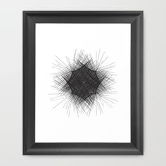 Spirograph Framed Art Print by Jaymee - $40.00