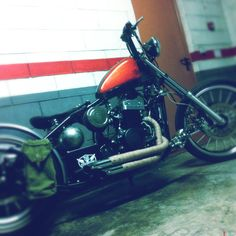 My Bobber with new pipes