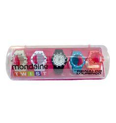 89fa4375923 Kit relógio Mondaine Twist por Reinaldo lourenço