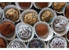 Vegan Truffles (these may make an appearance at a certain food & wine festival. :)
