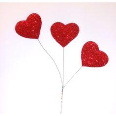 Heart Glitter Spray - 1 Per Package