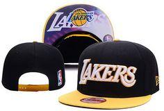 NBA Los Angeles Lakers Snapback Black Equipe De Lakers da45fd30340