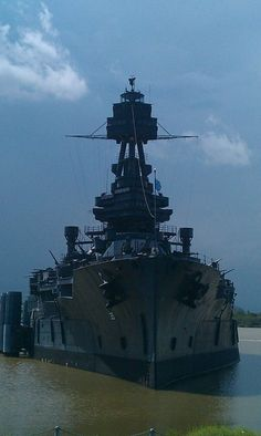 Castle of Steel. USS Texas (BB-35).
