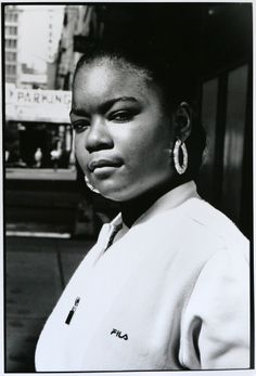 Roxanne Shante, NYC, 1986  Photography by Janette Beckman