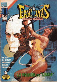 Comic Fantomas, la-amenaza elegante. Editorial Novaro