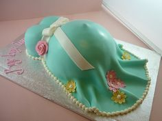 Pregnant Belly Cake   Flickr - Photo Sharing!