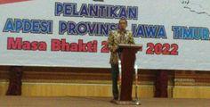 Metro Times (Sidoarjo) - Pelantikan DPD Asosiasi Pemerintah Desa Seluruh Indonesia (APDESI) Provinsi Jawa Timur. Dihadiri Gubernur Jawa Timur H Soekarwo, BPO APDESI Jatim Drs. KH. Hasan Aminudin M.Si, yang juga anggota DPR RI Komisi VIII, dan Ketua Umum DPP APDESI DR. H. Sindawa Tarang SH, MM , MH. Diadakan di Hotel Utami Sidoarjo, Selasa (16/5). Rekso Ijoyo, kepala desa Sentong, Kecamatan Krejengan Kabupaten Probolinggo, terpilih sebagai ketua APDESI Jawa Timur untuk periode 2017-2022. ...