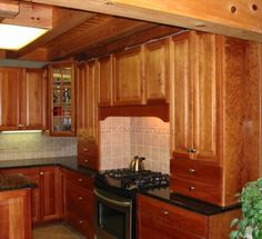 colors of stains for cabinets | rustic cherry cabinets in light