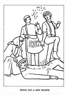 the beatles coloring page 16 - Beatles Coloring Book