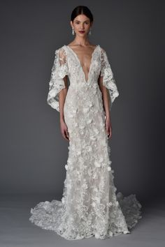 Marchesa Spring 2017  Mother of the groom evening 1