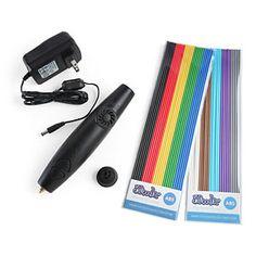 3Doodler 3D Printing Pen Starter kit w/ 50 strands of ABS plastic $99.99