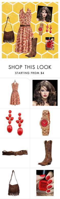 """Country is my beeswax"" by maggiesmelody ❤ liked on Polyvore featuring Marc by Marc Jacobs, Jeckerson, NYX and country"