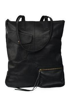 1197c919f7c7b Shoptiques Product  Fold   Hold Tote Black White Fashion