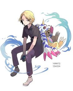 Matt & Gabumon !!