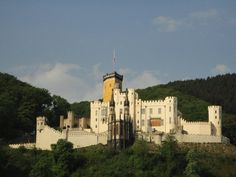 Stolzenfels Castle    Along Rhine River by Koblenz.  Saw this castle almost everyday when I visited my Omi.