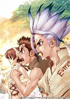 Dr Stone by Boichi , Manga Anime, Anime Ai, Manga Art, Anime Fan Art, Anime Artwork, Fullmetal Alchemist Brotherhood, Otaku, Japon Tokyo, Tokyo Ghoul