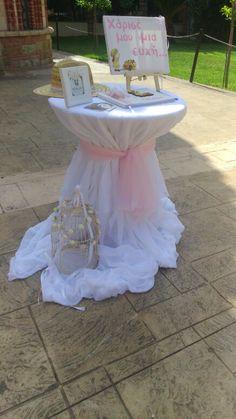 Τραπέζι με βιβλίο ευχων sarah kay Baptism Decorations, Baby Shower Decorations, Sarah Kay, Christening Themes, Baby Boy Baptism, Driftwood Art, Kids And Parenting, Flower Designs, Wedding Anniversary