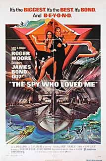 Posteritati: SPY WHO LOVED ME, THE 1977 U.S. 1 sheet (27x41)