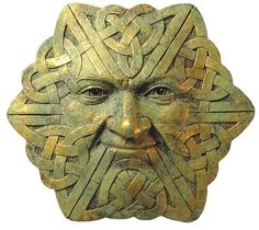 celtic green man, so cool, and a little creepy