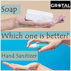 Soap or Hand Sanitiser? Which works better? know when to clean your hands and which method to use will give you the best chance of preventing sickness. #covid19outbreak #coronavirusdisease #washyourhands #soaps #handsanitisers #stayhealthystaysafe Best Hand Sanitizer, Soap Making, How To Stay Healthy, Soaps, Sick, It Works, Hands, Personal Care, Good Things