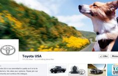 Toyota cover photo, which is about two years old, also tells a specific, emotionally resonant story with only a single image. Visitors will . Facebook Page Cover Photo, Creative Facebook Cover, Facebook Timeline Photos, Cover Pics For Facebook, Timeline Cover Photos, Facebook News, About Facebook, Facebook Followers, Toyota Usa