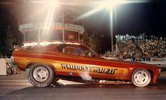 """Vintage Drag Racing - Funny Car - Whipple """"Mr Ed"""" - OCIR"""