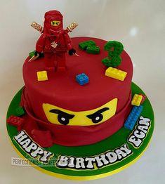 Ninja Birthday Cake, Ninja Cake, My Son Birthday, Lego Birthday Party, Harry Birthday, Power Rangers Birthday Cake, Lego Ninjago Cake, Ninjago Party, Gateau Power Rangers