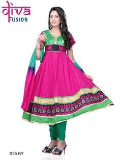Party/Festival wear Designer Anarkali Suits Diwali shopping Rs 2024