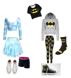 """""""Krissy and Mary"""" by smilelykristenjoy on Polyvore featuring Converse and NIKE"""