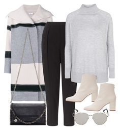 """Untitled #10986"" by minimalmanhattan on Polyvore featuring Vince, STELLA McCARTNEY, Kin by John Lewis, Topshop, Zara, Retrò, women's clothing, women's fashion, women and female"