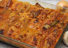 Sütőben sült szárma recept foto Hungarian Recipes, Hungarian Food, Lasagna, Food To Make, Nom Nom, Curry, Pork, Food And Drink, Lunch