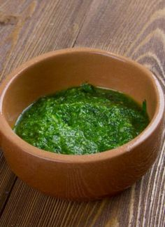 Z'hug Z'hug, or schug, is the Yemenite version of hot sauce. It is very popular in Israeli dishes, especially on top of shawarma or falafel, and even in soup! There are several varieties, including red, green, and brown. This green version is rich with cilantro, parsley, and jalapeño peppers.