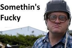 "Trailer Park Boys- Bubbles ""Somethin's Fucky"" Best show ever made! Bubbles Trailer Park, Trailer Park Boys Quotes, Boy Meme, Phil Collins, Funny As Hell, Thats The Way, Best Shows Ever, Laugh Out Loud, I Laughed"